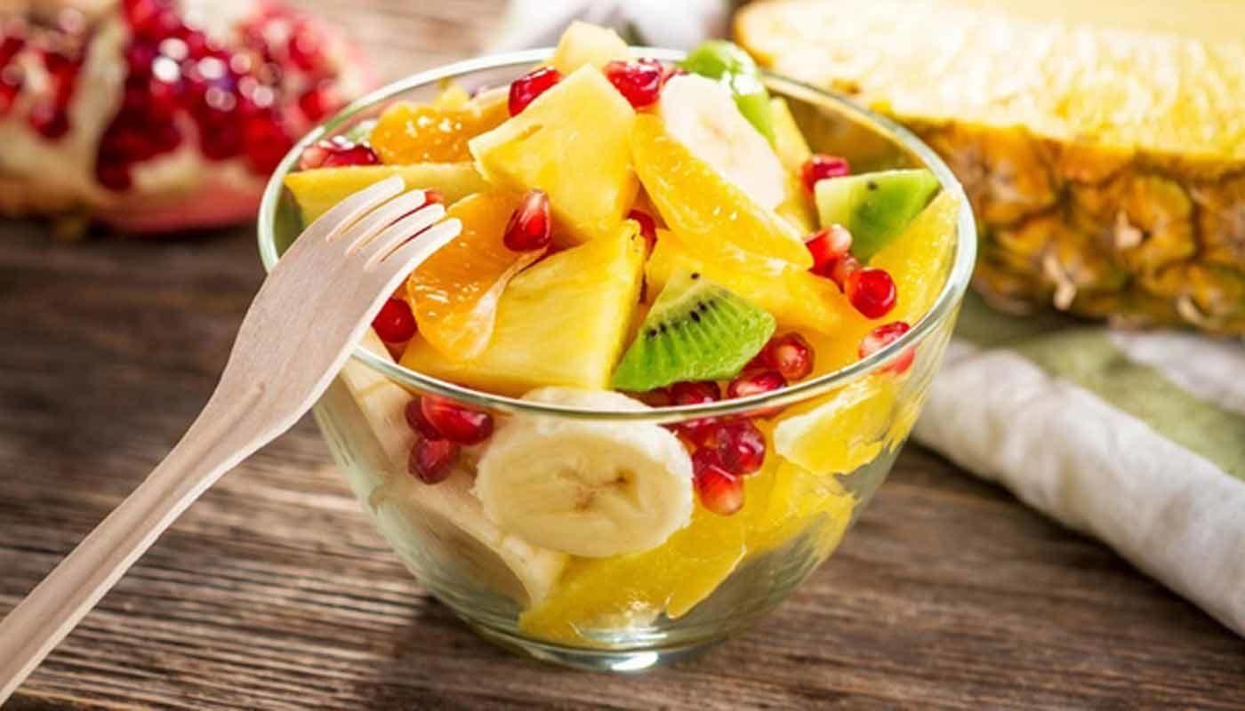 Фруктовые летние салаты: рецепты приготовления легких и сочных завтраков или перекусов